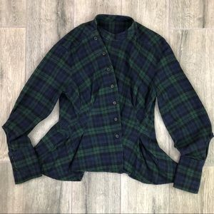"""Tops - """" Equestrian Style"""" Flannel"""